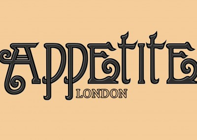 Logo done for APPETITE London