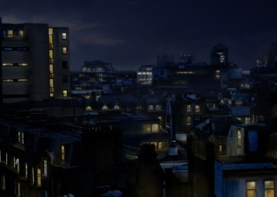 Day To Night Matte Painting Tutorial done for 3D World Magazine.