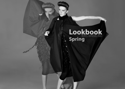 Lookbook Layout, retouching, & editing done for fORS BINSBLIND